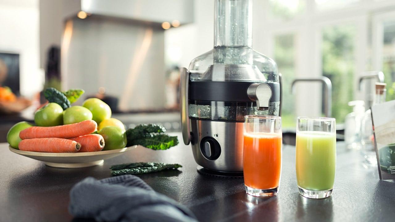 Sokowirówki szybkoobrotowe — zdrowy sok z dużą ilością