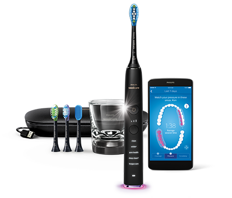 DiamondClean Smart — czarna