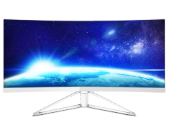 Monitor LCD Curved UltraWide