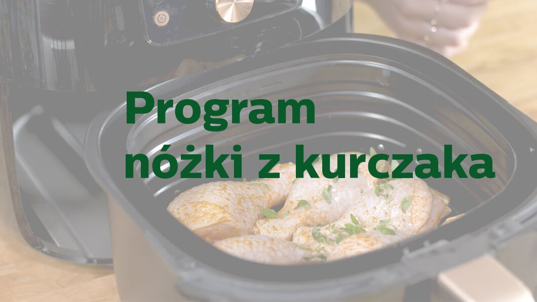 Philips Ovi Smart - Program nóżki z kurczaka