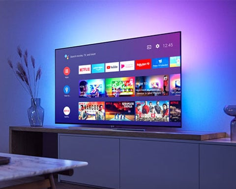 Telewizor Smart TV z systemem Android