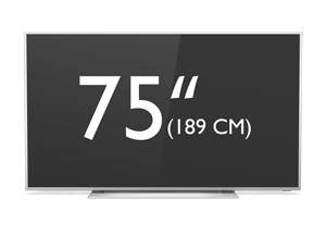 75-calowy telewizor Philips 4K LED UHD Android Smart TV z serii Performance